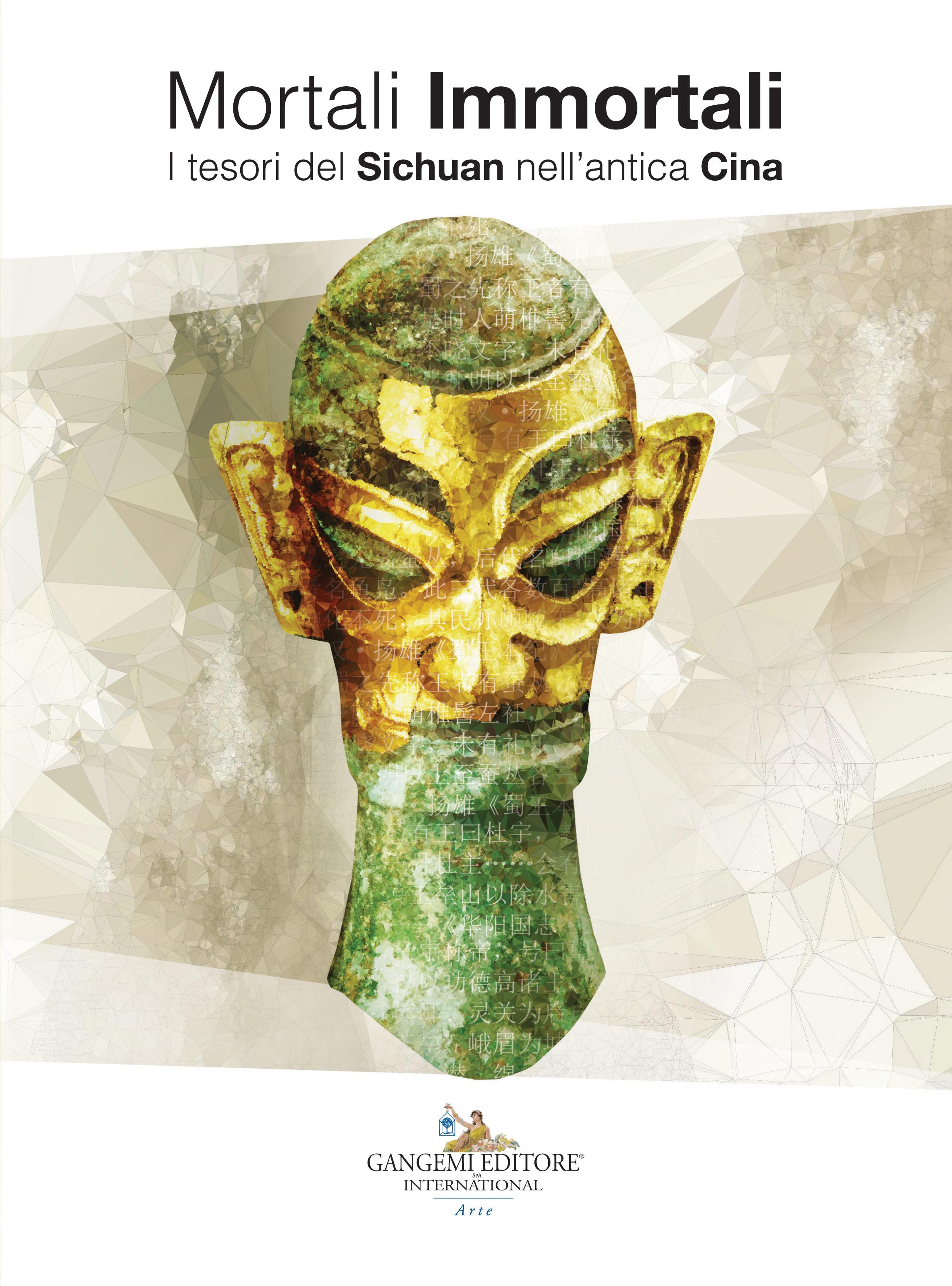 Immagine della copertina del catalogo della mostra Mortali immortali