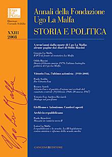 Annali della Fondazione Ugo La Malfa XXIII - 2008