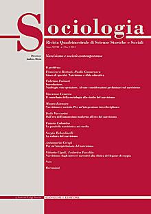 Sociologia n. 2bis/2014