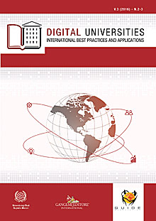 Digital Universities V.3 (2016) n. 2-3