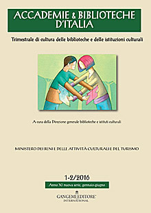 Accademie & Biblioteche 1-2/2016