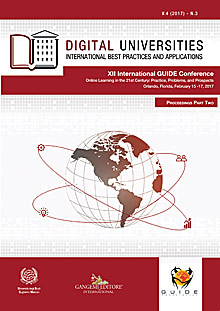 Digital Universities V.4 (2017) n. 3
