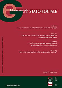 GE Diritto Economia dello Stato Sociale