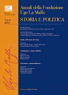 Annali della Fondazione Ugo La Malfa XXVI - 2011