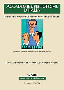 Accademie & Biblioteche d'Italia 3-4/2014