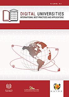Digital Universities V.3 (2016) n. 1