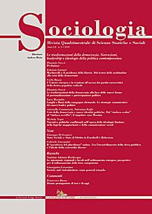 Sociologia n.3/2018