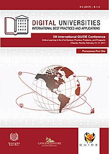 Digital Universities V.4 (2017) n. 1-2