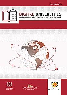 Digital Universities V.5 (2018) n. 1-2