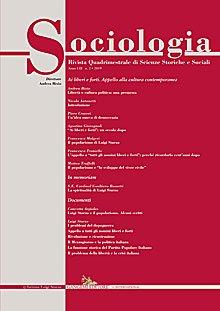 Sociologia n.2/2019