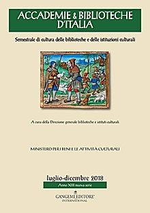 Accademie & Biblioteche d'Italia 3-4/2018