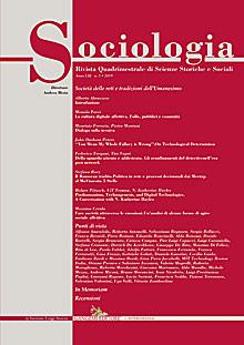 Sociologia n. 3/2019