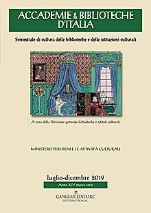 Accademie & Biblioteche d'Italia 2/2019