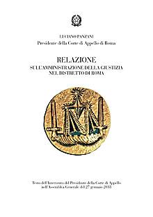 Relazione 2017 Corte Appello Roma